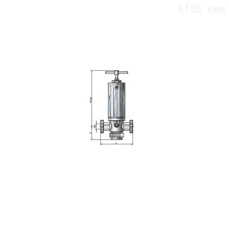 Niezgodka减压阀不锈钢材质用于生物制药