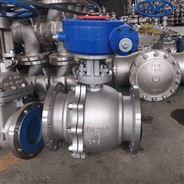 三精Q341F软密封涡轮不锈钢球阀煤气