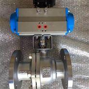 Q641F气动不锈钢球阀