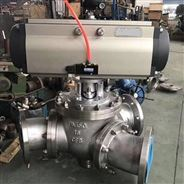 Q642F/H气动Y型三通球阀
