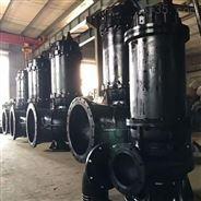 大流量雙流道潛水排污泵