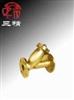 WF41B-16T 过滤器:黄铜法兰水过滤器